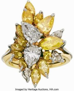 The existence of the diamond has positively impacted our society, along with others for ages. Diamond jewelry began as a luxury for many wealthy Gold Rings Jewelry, Sparkly Jewelry, Sapphire Jewelry, Fancy Jewellery, Jewellery Shops, Diamond Jewellery, Diamond Rings, Wedding Jewelry, Expensive Rings