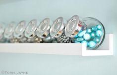 Large bead storage