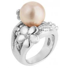 Pfeffinger Damen Ring mit Muschelkernperle