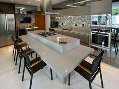 Kitchen Room Design, Modern Kitchen Design, Home Decor Kitchen, Interior Design Kitchen, Kitchen Furniture, Home Kitchens, Küchen Design, House Design, Kitchen Layout Plans