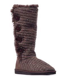 Another great find on #zulily! Brown Short Speckled Melana  Boot - Women #zulilyfinds