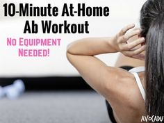 10 Minute At-Home Ab Workout – No Equipment Needed!