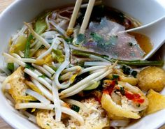 VIETNAMESE PHO SOUP WITH BAKED TOFU