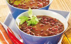 Feurige Bohnensuppe