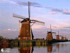 Ветряные мельницы Нидерландов - Путешествуем вместе