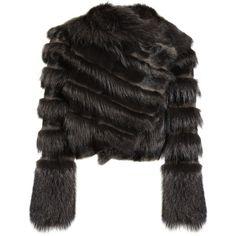 Coats|Designer Clothing|NET-A-PORTER.COM (53 655 UAH) ❤ liked on Polyvore featuring outerwear, coats, jackets, fur, fendi and fendi coat