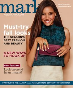 mark Magalog Campaigns 22-23 2015 eBrochure | AVON #mark #makeup #avon #avonrep #magalog #beauty #campaign23 #fall #fashion #skincare #beauty