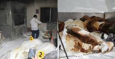 México: El horror no da tregua, en  un crematorio abandonado en Acapulco, Guerrero.  El mismo triste e indignado estado, donde desaparecieron a 43 normalistas, donde entierran cuerpos en fosas clandestinas, donde matan sacerdotes. Los vecinos del lugar reportaron un olor fétido. Era el olor de la muerte.