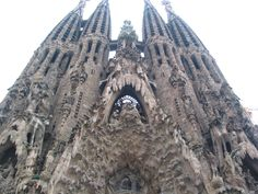 Sagrada Família in Barcelona. Drawn out by the great Antoni Gaudi in 1882, started to build a year later. 130 years on, it's still incomplete. Every nook and cranny must be perfected down to a 'T'.