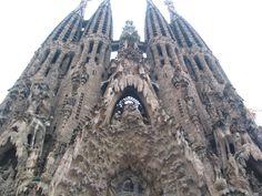 Beautiful Gaudi architecture!