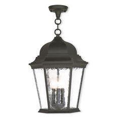 Livex Hamilton 75475 Outdoor Hanging Lantern - 75475-14