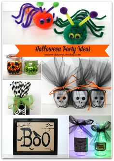 Easy Halloween Party Ideas!