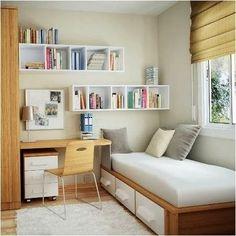 camas com gavetoes por baixo ou as camas elevadas com armarios na ...