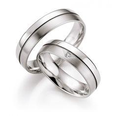 witgoud trouwringen met diamant honeymoon selection