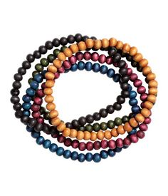 5-pack Bracelets | Multicolored | Men | H&M US