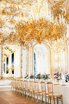 Regal and Luxury Wedding Ideas