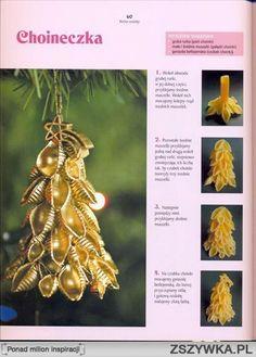 Zobacz zdjęcie choineczka z makaronu w pełnej rozdzielczości