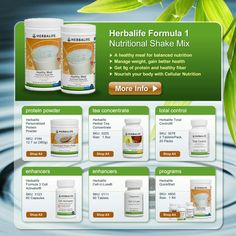 HERBALIFE how can I help you to put together the best package for the best nutrition