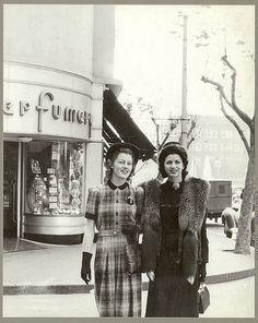1941 fashion vintage #fashion #vintage for my collage #NMArtofFashion