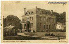Beetsterzwaag, Cornelia-Stichting. Achterzijde