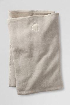 Herringbone Blanket from Lands' End
