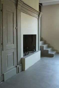 Inrichting droomhuis on pinterest white wood child room for Beton cire interieur