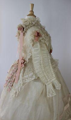12 Piece Wedding Ensemble Louise Loomis Burrell Little Falls NY from 1868 | eBay