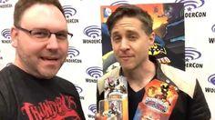 Skylanders Trail Blazer + Fright Rider Voice Yuri Lowenthal Interview Wo...
