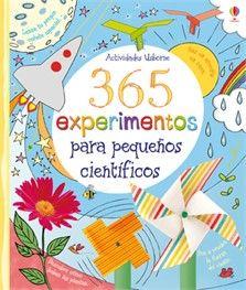 """""""365 experimentos para pequeños científicos"""" at Ediciones Usborne"""