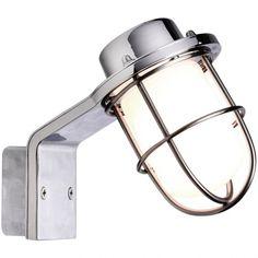 Piękny kinkiet Marina to model o nowoczesnym designie a zarazem z nutką stylu industrialnego. Ten kinkiet świetnie sprawdza się w łazience. http://blowupdesign.pl/pl/35-lampy-klatki-metalowe-loft-design# #lampywiszące #kinkietyścienne #lampyścienne #lampyklatki #lampyindustrialne #lampyloftowe #walllamp #industrialdesign #loftlamps