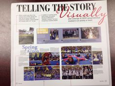 theme-dominant pic-head sizes Yearbook Layouts, Yearbook Ideas, Pep Rally, The Outsiders, Photo Wall, Student, Activities, How To Plan, Shit Happens