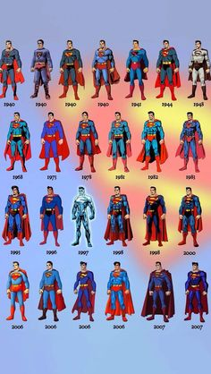 Photo Top 5 Superman Suits His Costumes From The Comic Superman Suit, Superman Artwork, Superman Wallpaper, Superman News, Supergirl Superman, Dc Comics Superheroes, Dc Comics Art, Marvel Dc Comics, Marvel Heroes