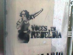 Voces de rebeldia...