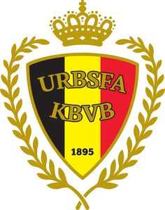 Belgium Primary Logo on Chris Creamer's Sports Logos Page - SportsLogos. A virtual museum of sports logos, uniforms and historical items. Soccer Logo, Football Team Logos, Football Soccer, Sports Logos, Soccer Teams, Football Shirts, Belgium National Football Team, National Football Teams, Vincent Kompany