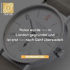 Wusstet Ihr das schon über #Rolex?    #Armbanduhr #Armbanduhren #Damenuhr #Damenuhren #Herrenuhr #Herrenuhren #Armband #Armbänder #Uhren #Uhrenliebe #Uhrenverrückt #Uhr #Angebot #Geschenkideen #Geschenk #Österreich #Deutschland #Luxusuhr #Luxusuhren #Neueuhr #Fashionblogger_de #Modeblogger_de #Outfitdestages #Schick #Lieblingsstück #shoppenmachtglücklich #Freitag #fakt #fakten Rolex, Outfit Des Tages, One Hundred Years, Switzerland, French, History, Night, Children, Stone