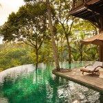 Cozy Swimming Pool in Como Shambhala - Luxury Villa-Style Accomodations Near Ubud, Bali