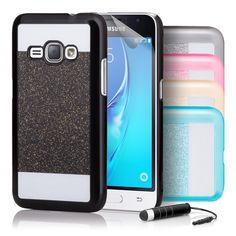 Samsung Galaxy J5 (2015) Ultra Slim Hard Shell Glitter Case - 32ndShop