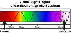 Visible light region of the Electromagnetic spectrum  Physics for Kids The Science of Light Spectrum