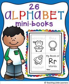 Print and fold and your little learners are ready to read! Includes 2 sets (tracing print and solid print)