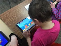 I gave 1st grade free time at the end of our math lesson today. They chose to play @PlayTheFoos!  Cool! @lccschools