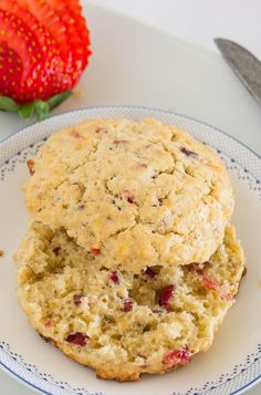 Scones de Avena, Avellanas y Cranberries