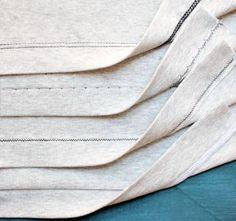 Hoe naai je met tricot stoffen