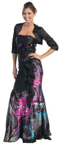 Amazon.com: Mother of the Bride Formal Evening Dress #2628: Clothing