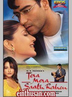 Tera Mera Saath Rahen Hindi Movie Online - Ajay Devgn, Dushyant Wagh, Sonali Bendre and Namrata Shirodkar. Directed by Mahesh Manjreker. Music by Anand Raj Anand. 2001[U] w.eng.subs
