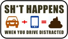 Distracted Driver Hits Manure Trailer - SH*T HAPPENS WHEN YOU DRIVE DISTRACTED | By: Jeffrey Lapin of Lapin Law Offices | #distracteddriving #drivingdistracted #distracteddrivingisdangerous