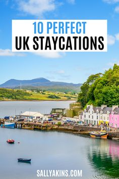 [Ad] If you're planning a holiday in the UK, then this selection of places to stay will give you some great inspiration for your vacation. From lighthouses on the coast to romantic island hideaways, you're sure to find the perfect idea for your next UK getaway! #travel #inspiration #UK #United Kingdom Ludlow Castle, Roseland Peninsula, Romantic Escapes, Uk Holidays, Scottish Castles, In Season Produce, Seaside Towns, Next Holiday, Scotland Travel