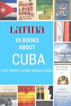 10 MUST READ BOOKS ABOUT CUBA! #latino #books