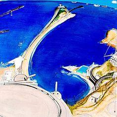Auction date for Whiteley's rare Newcastle painting Pastel Landscape, Landscape Art, Landscape Paintings, Landscapes, Australian Painting, Australian Artists, Avant Garde Artists, Art Auction, Installation Art