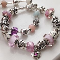 Pandora Jewelry OFF! Pandora Beads, Pandora Bracelet Charms, Pandora Jewelry, Charm Jewelry, Jewelry Art, Jewelry Accessories, Charm Bracelets, Bangle, Pandora Collection