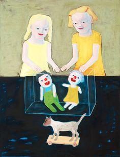 """Lena Cronqvist Born 1938 """"Akvarium"""" (The aquarium). (d)"""